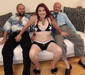 She just craves the company of older men's cocks
