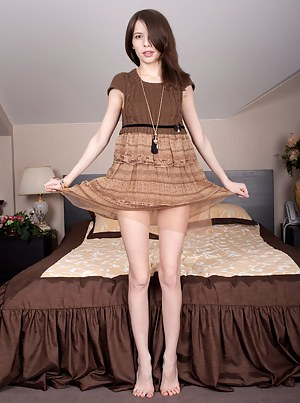 This wonderful teen doll has a lot of hot fun while she shows off that incredible that she has hidden before the show.