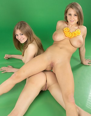 Sweet lesbians settle their misunderstandings in a sexy language they both understand as they lick some sweet pussy.