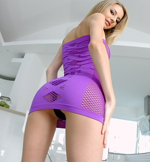 Join tender blonde taking off her sexy clothes and showing solo skills in close up manner. She just wants to penetrate her holes with toys extremely deep.